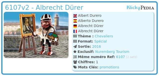 Playmobil 6107v2 - Albert Durero