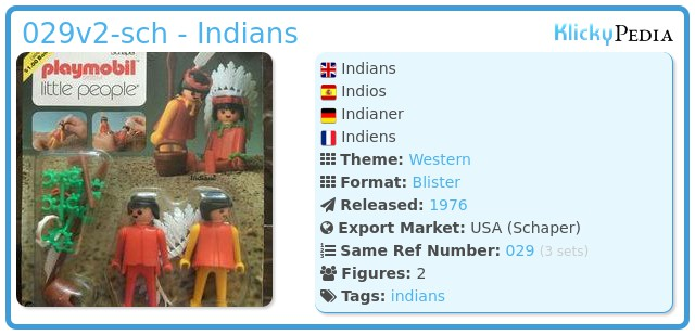 Playmobil 029v2-sch - Indians