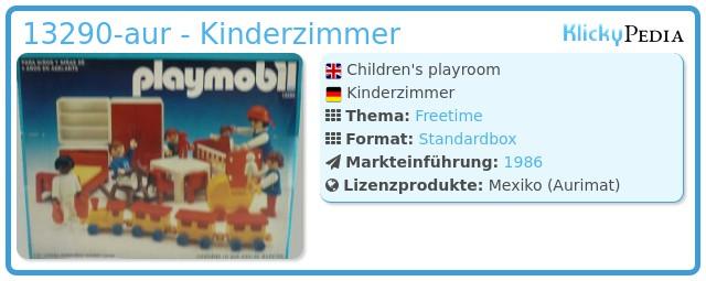 Playmobil 13290-aur - Kinderzimmer