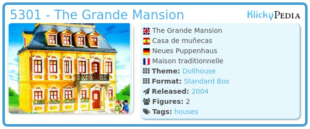 Playmobil 5301 - The Grande Mansion