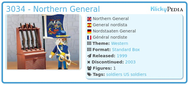 Playmobil 3034 - Northern General