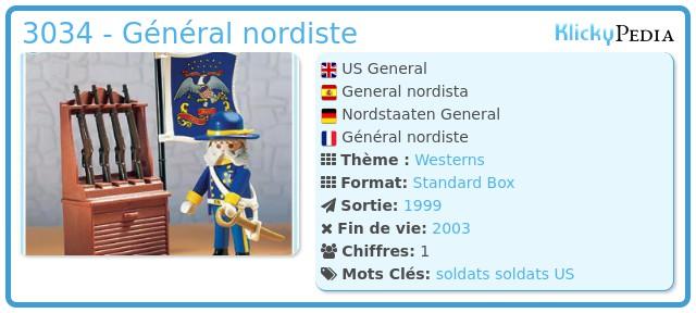 Playmobil 3034 - Général nordiste