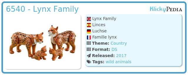 Playmobil 6540 - Lynx
