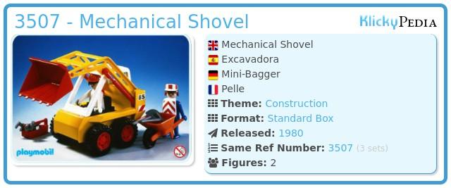 Playmobil 3507 - Excavator