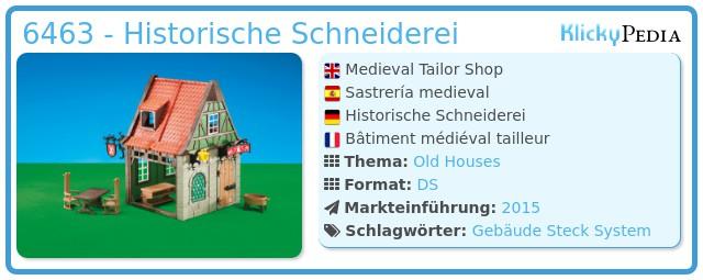 Playmobil 6463 - Historische Schneiderei