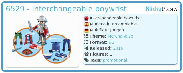 Playmobil 6529 - Interchangeable boywrist
