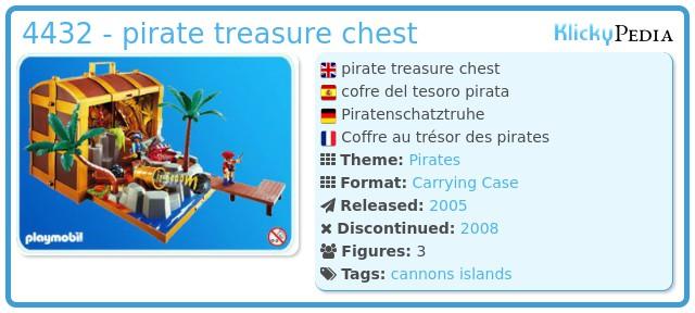 Playmobil 4432 - pirate treasure chest