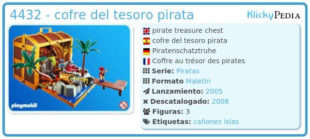 Playmobil 4432 - cofre del tesoro pirata