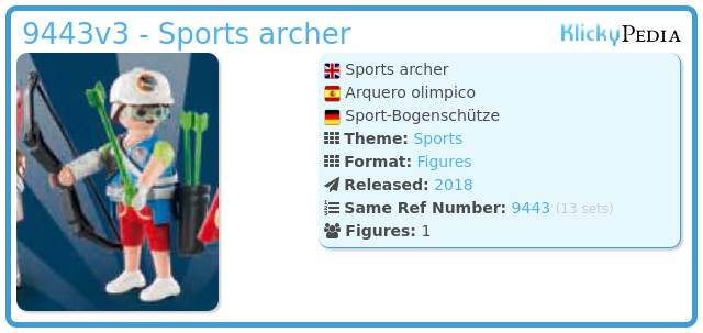 Playmobil 9443v3 - Sports archer
