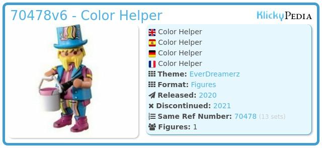 Playmobil 70478-06 - Color Helper