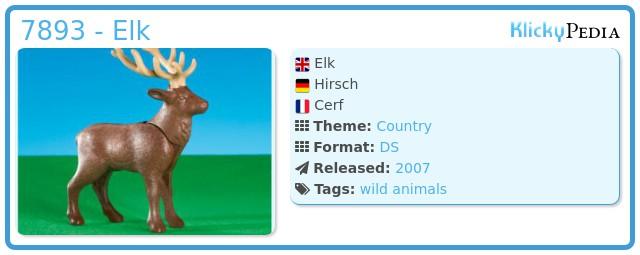Playmobil 7893 - Elk
