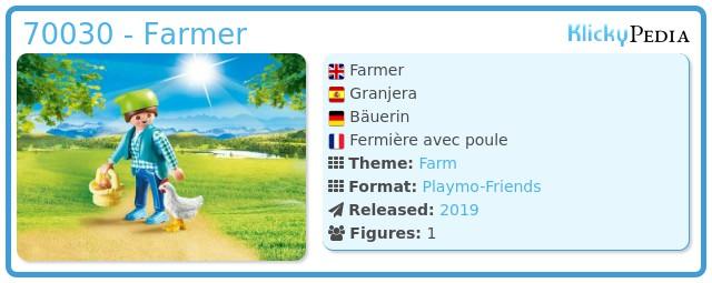 Playmobil 70030 - Farmer