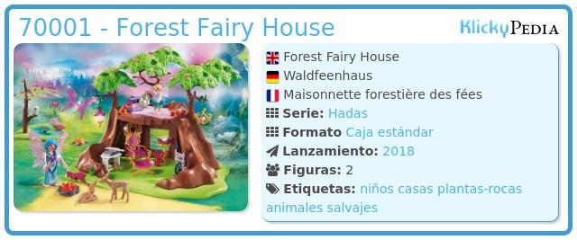Playmobil 70001 - Forest Fairy House