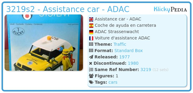 Playmobil 3219s2 - Assistance car - ADAC