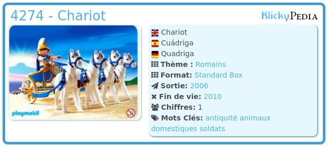 Playmobil 4274 - Chariot