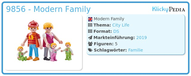 Playmobil 9856 - Modern Family
