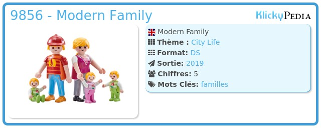 Playmobil 9856 - Modern Family