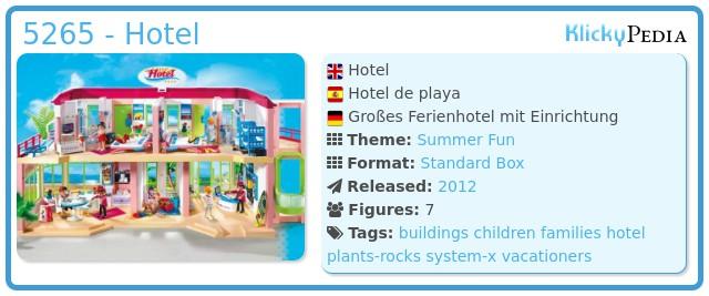 Playmobil 5265 - Hotel