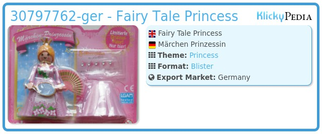 Playmobil 30797762-ger - Fairy Tale Princess