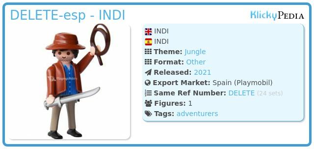 Playmobil 70565V11 SERIE 19 INDI-esp - INDI