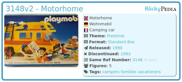 Playmobil 3148v2 - Motorhome