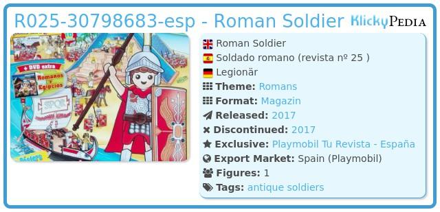 Playmobil R025-30798683-esp - Roman Soldier