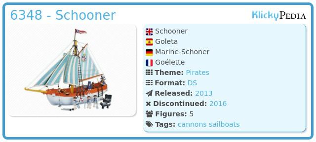 Playmobil 6348 - Schooner