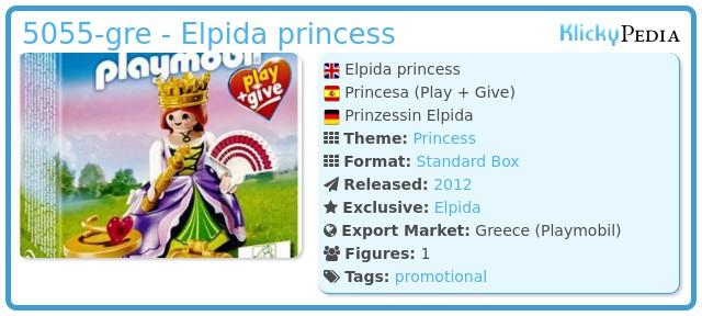 Playmobil 5055-gre - Elpida princess