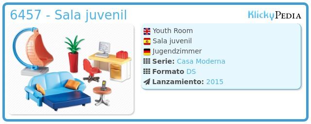 Playmobil 6457 - Sala juvenil