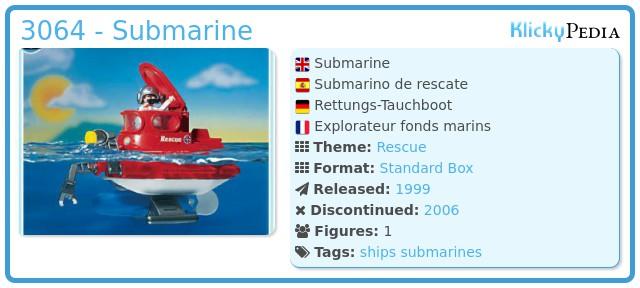 Playmobil 3064 - Submarine
