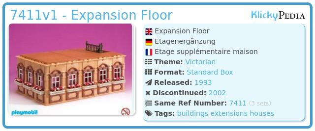 Playmobil 7411v1 - Expansion Floor