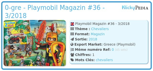 Playmobil 0-gre - Playmobil Magazin #36 - 3/2018