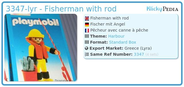 Playmobil 3347-lyr - Fisherman