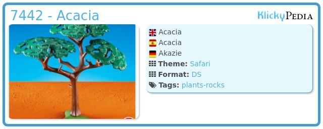 Playmobil 7442 - Acacia