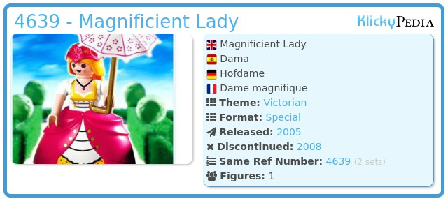Playmobil 4639 - Magnificient Lady