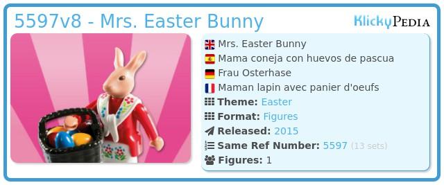 Playmobil 5597v8 - Mama coneja con huevos de pascua