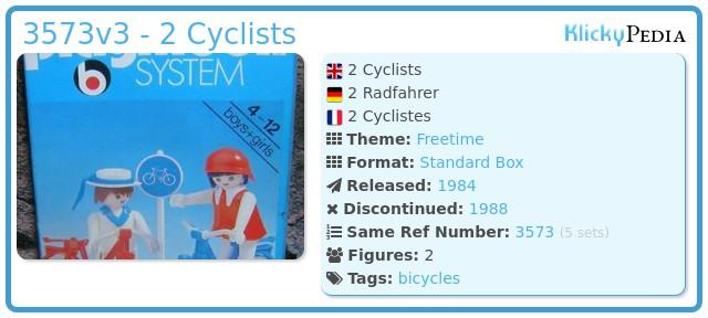 Playmobil 3573v3 - 2 Cyclists