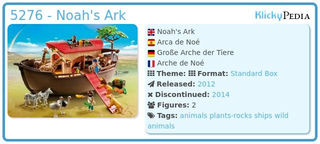 Playmobil 5276 - Noah's Ark