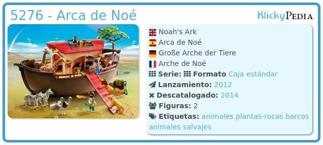 Playmobil 5276 - Arca de Noé