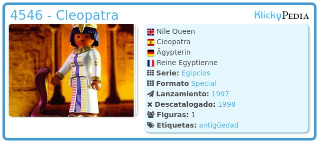 Playmobil 4546 - Cleopatra