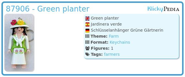 Playmobil 87906 - Green planter