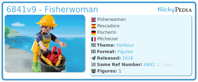 Playmobil 6841v9 - Fisherwoman
