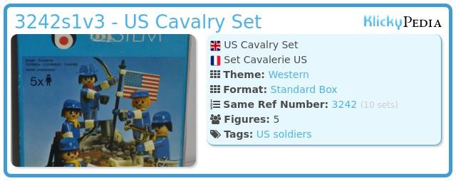 Playmobil 3242s1v3 - US Cavalry Set