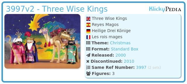 Playmobil 3997 - Three Wise Kings