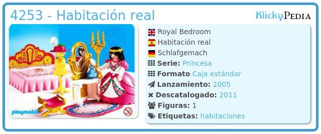 Playmobil 4253 - Habitación real