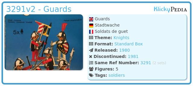 Playmobil 3291v2 - Guards