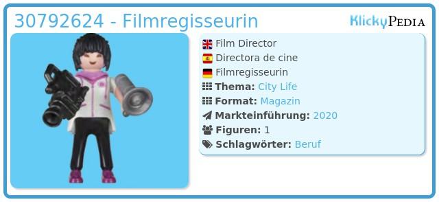 Playmobil 30792624 - Film Director