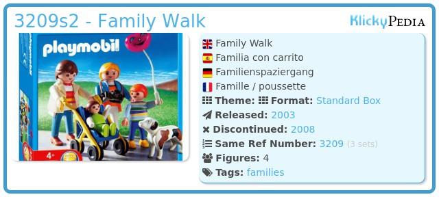 Playmobil 3209s2 - Family Walk