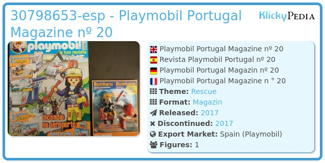 Playmobil 30798653-esp - Playmobil Portugal Magazine nº 20