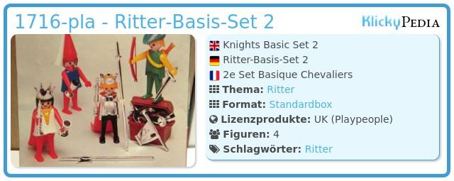 Playmobil 1716-pla - Knights Basic Set 2